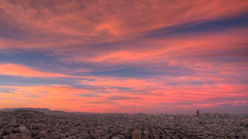 Sunset from Bernal Hill