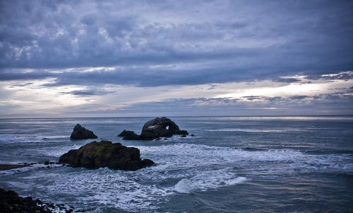 Clouds over Seal Rock