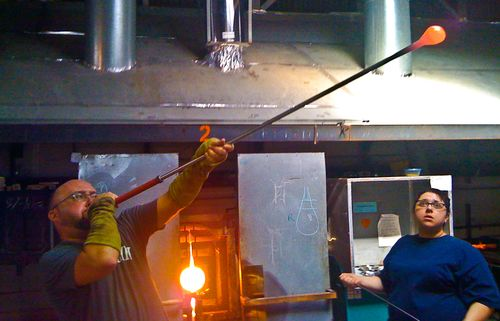I'm a glassblower!
